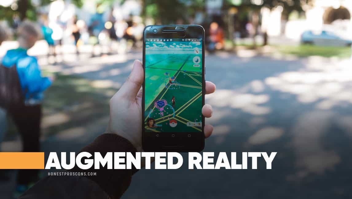 advantages and disadvantages of augmented reality