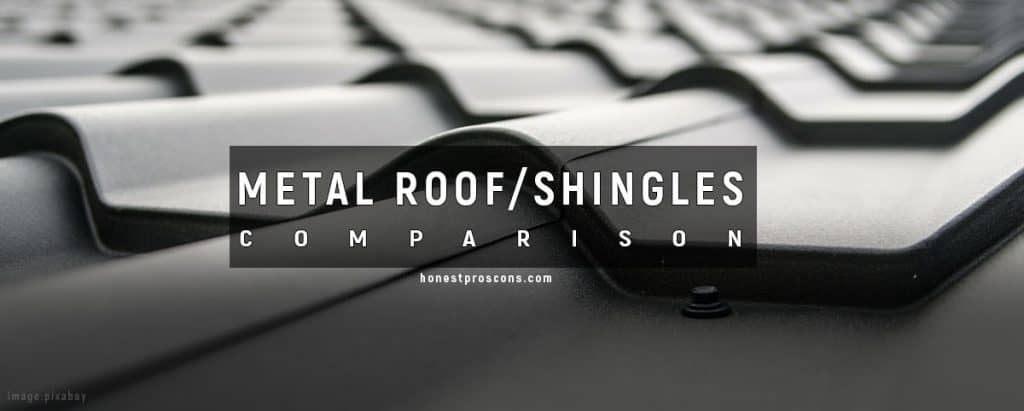 Metal Roof and Shingles