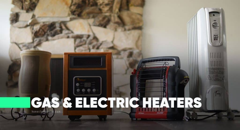 Comparing Electric and Gas Heaters