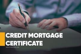 Credit Mortgage Certificate