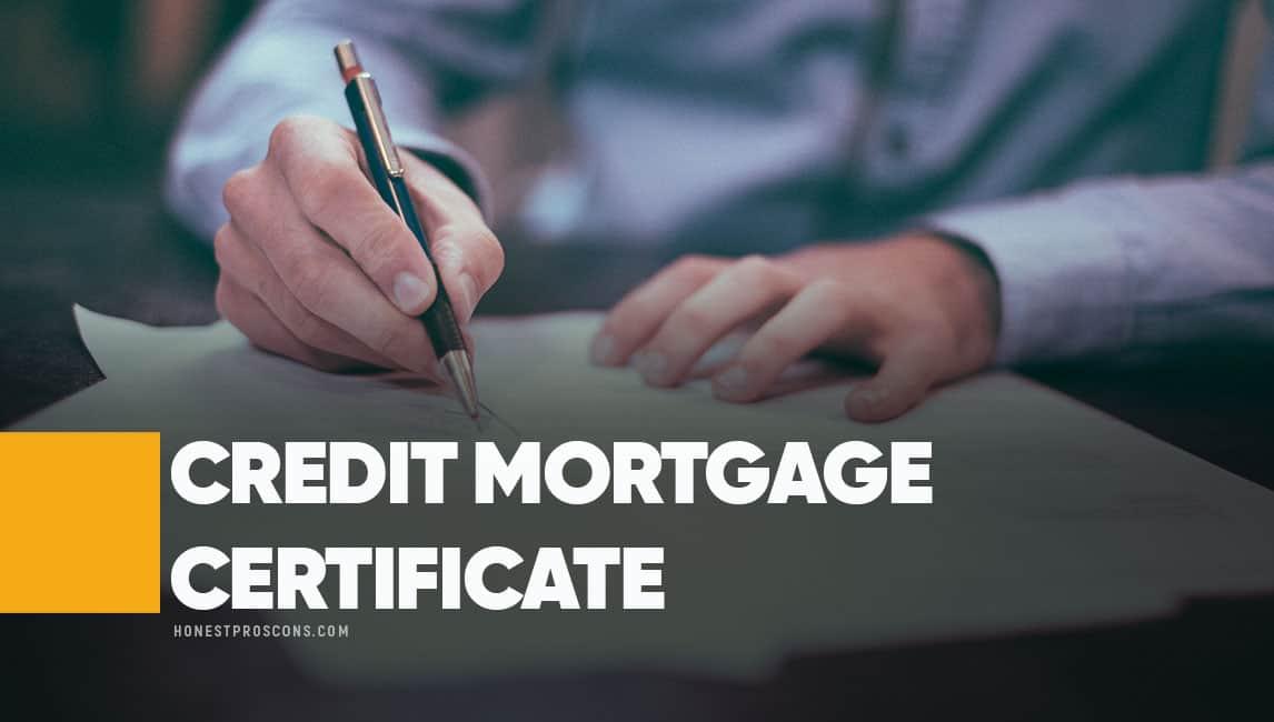 Credit Mortgage Certificate