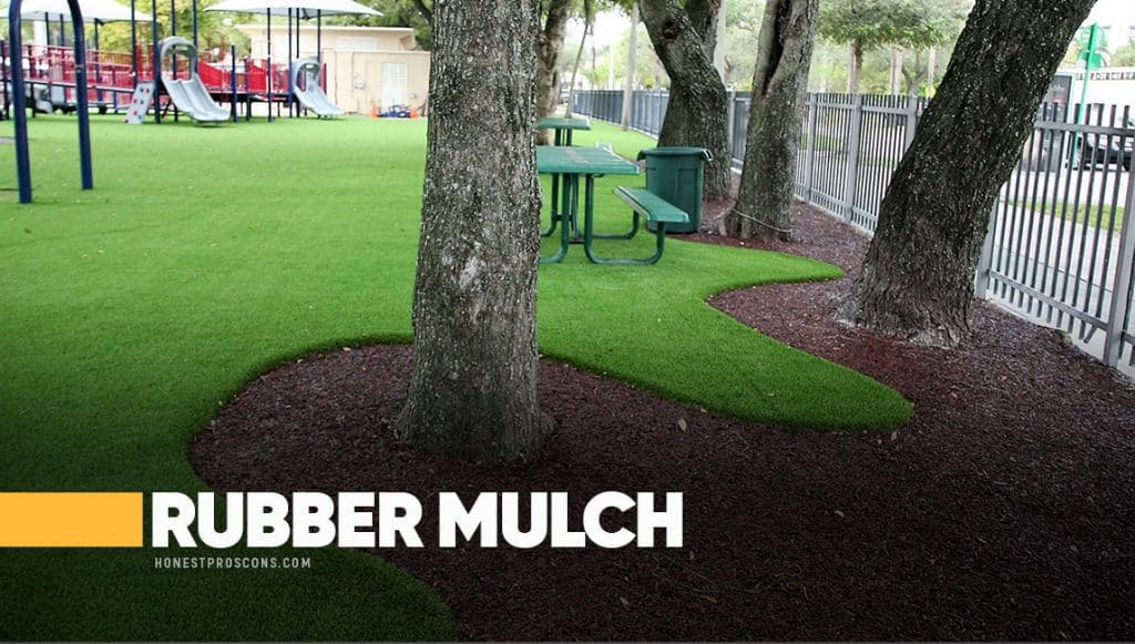 Pros Cons of Rubber Mulch