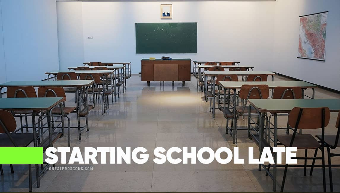Starting School Late