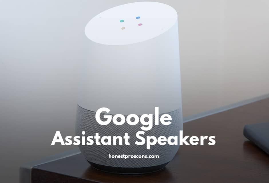 Google Assistant Speakers