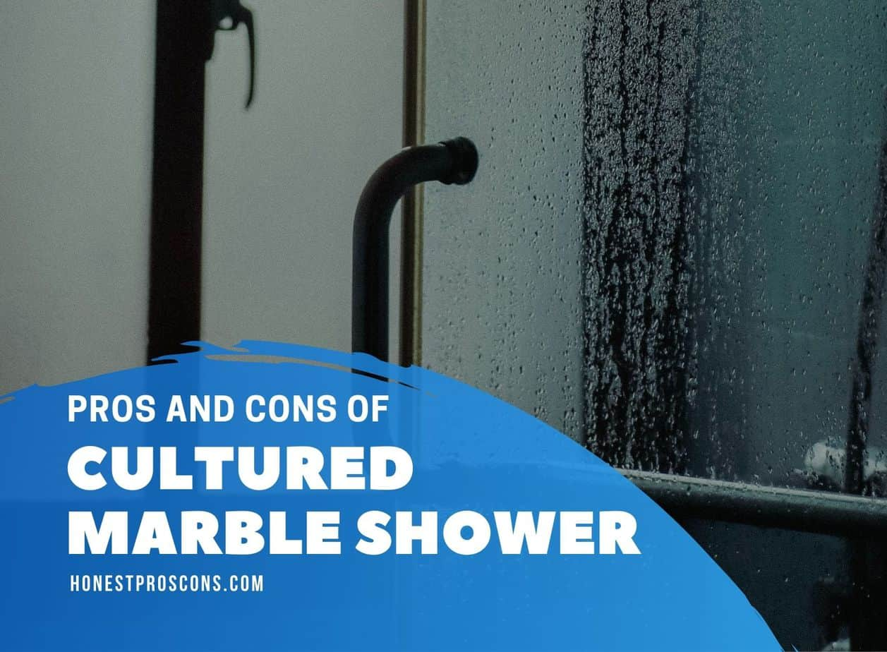 Pros and Cons of Cultured Marble Shower