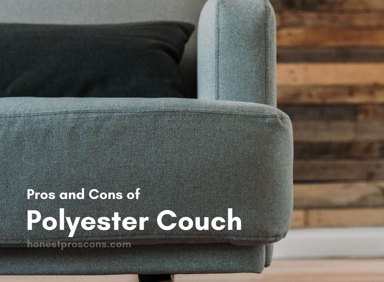 Pros and Cons of Polyester Couch