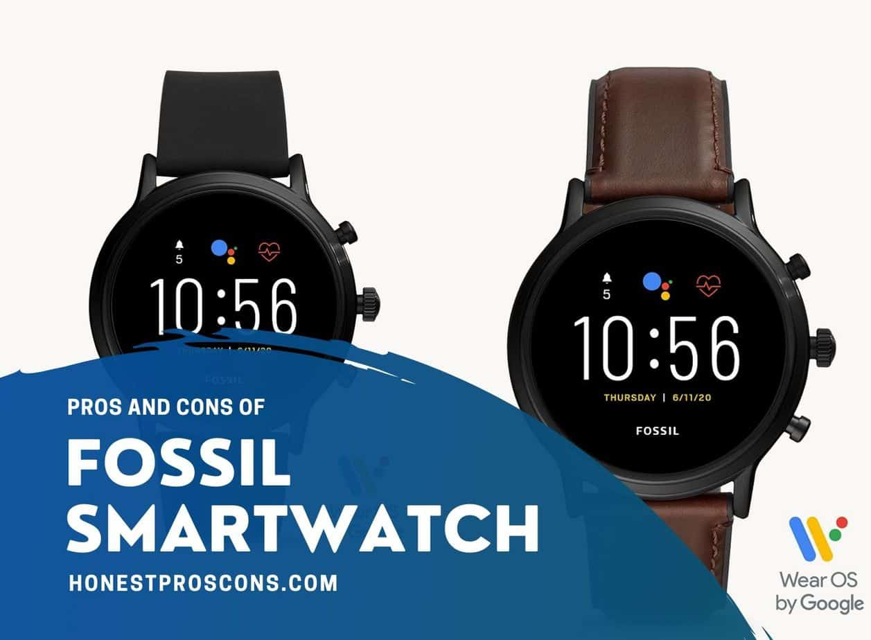Fossil Smartwatches Pros Cons