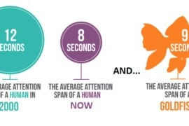 Social Media attention span
