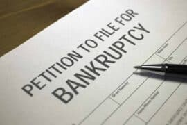 What are the advantages of filing a bankruptcy?