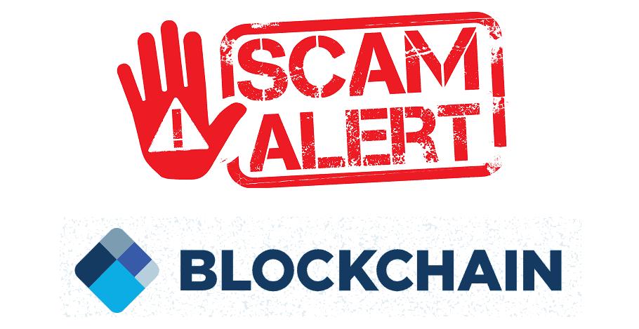 blockchain.com scam alert