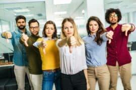Group of millenials