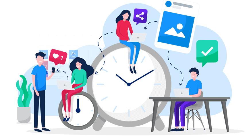 Social Media Posting Time